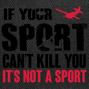 skydiving. this sport can kill you T-Shirts - Snapback Cap