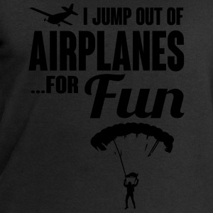 I jump out of airplanes for fun - skydiving T-shirts - Sweatshirt herr från Stanley & Stella