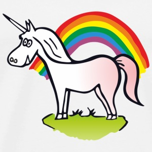 Rainbow & Unicorn  Sports wear - Men's Premium T-Shirt