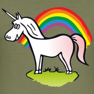 Rainbow & Unicorn  Overig - slim fit T-shirt