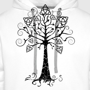 Tablier Arbre phare doré Brocéliande  Spirit - Sweat-shirt à capuche Premium pour hommes