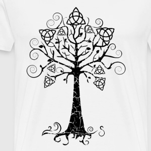 Tablier Arbre phare doré Brocéliande  Spirit - T-shirt Premium Homme