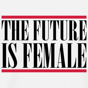 The Future is female Mugs & Drinkware - Men's Premium T-Shirt