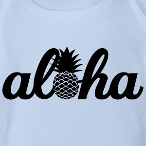 Aloha Pineapple Tee shirts - Body bébé bio manches courtes