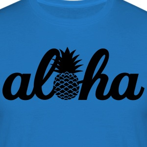 Aloha Pineapple Tabliers - T-shirt Homme