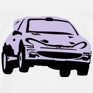 Rally car, race car Tops - Camiseta premium hombre