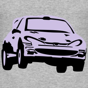 Rally car, race car Gensere - Slim Fit T-skjorte for menn