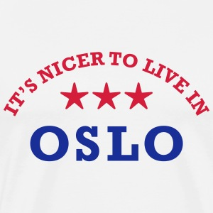 oslo Long sleeve shirts - Men's Premium T-Shirt