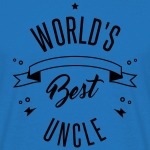 WORLD'S BEST UNCLE Tassen & rugzakken - Mannen T-shirt