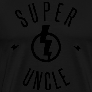 SUPER UNCLE  Aprons - Men's Premium T-Shirt