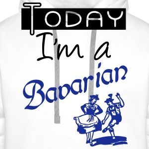 Today I'm a Bavarian - Men's Premium Hoodie