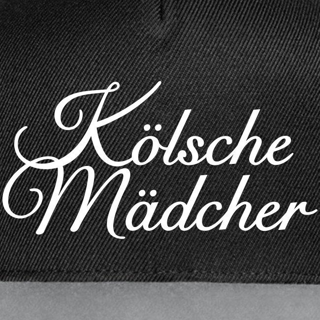 Kölsche Mädcher Classic (Weiß) Mädchen aus Köln