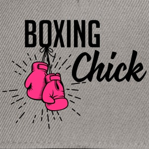 boxing chick Tee shirts - Casquette snapback