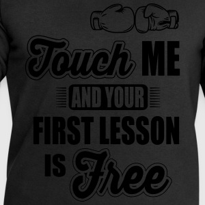 first lesson is free T-Shirts - Men's Sweatshirt by Stanley & Stella