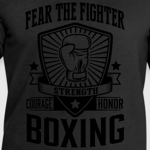 boxing - fear the fighter T-Shirts - Men's Sweatshirt by Stanley & Stella