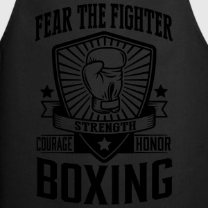 boxing - fear the fighter Tee shirts - Tablier de cuisine
