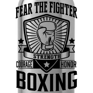 boxing - fear the fighter Tee shirts - Gourde