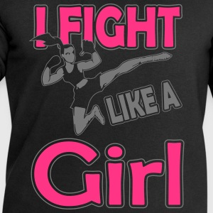 fight like a girl T-Shirts - Men's Sweatshirt by Stanley & Stella