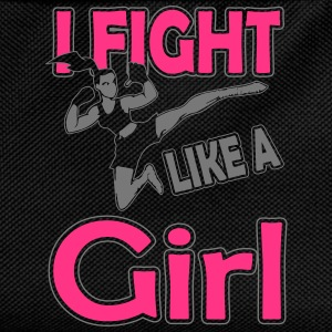 fight like a girl T-Shirts - Kids' Backpack