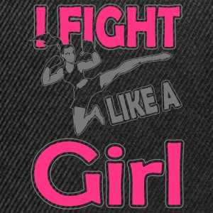 fight like a girl T-Shirts - Snapback Cap