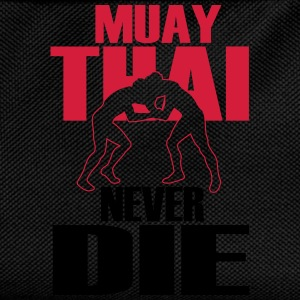 muay thai never die T-Shirts - Kids' Backpack