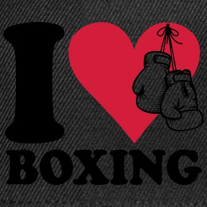 I love boxing Tee shirts - Casquette snapback