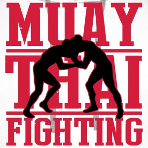muay thai fighting T-Shirts - Men's Premium Hoodie