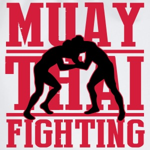 muay thai fighting Magliette - Sacca sportiva