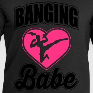 banging babe T-Shirts - Men's Sweatshirt by Stanley & Stella