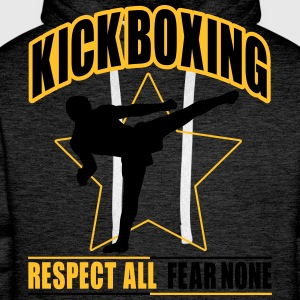 kickboxing - fear none T-Shirts - Men's Premium Hoodie