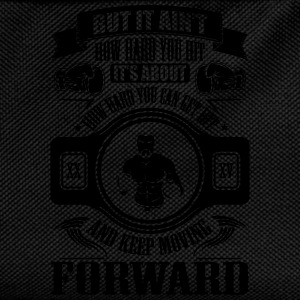 boxing keep movin forward T-Shirts - Kids' Backpack