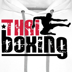 thai boxing T-Shirts - Men's Premium Hoodie