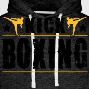 kick boxing T-Shirts - Men's Premium Hoodie