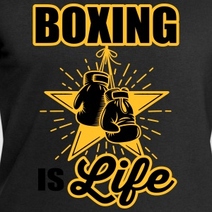 boxing is life T-Shirts - Men's Sweatshirt by Stanley & Stella