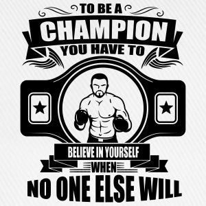 champion - believe in yourself T-Shirts - Baseballkappe