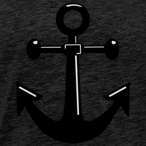Anchor Ship Seafaring Hoodies & Sweatshirts - Men's Premium T-Shirt
