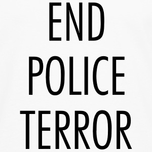 End police terror Tee shirts - T-shirt manches longues Premium Homme