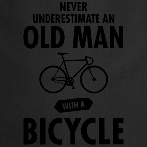 Never Underestimate An Old Man With A Bicycle Magliette - Grembiule da cucina