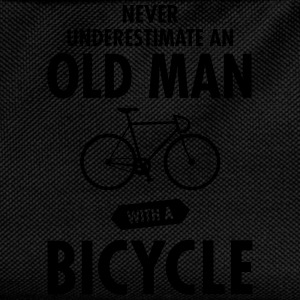 Never Underestimate An Old Man With A Bicycle T-skjorter - Ryggsekk for barn