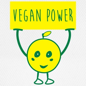 Vegan power bio t-shirt - Baseballkappe