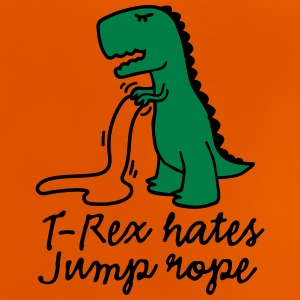T-Rex hates jump rope Shirts - Baby T-shirt