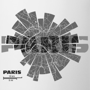 Paris Map Shirts - Mug