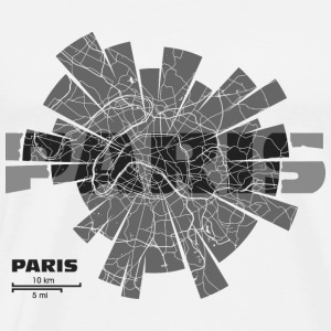 Paris Map Sports wear - Men's Premium T-Shirt