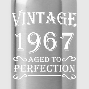 Vintage 1967 - Aged to perfection T-Shirts - Water Bottle