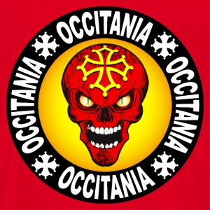 occitania skull cross 03 Sweat-shirts - T-shirt Homme
