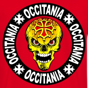 occitania skull cross 04 Sweat-shirts - T-shirt Homme