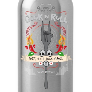 cook ´n roll T-Shirts - Trinkflasche