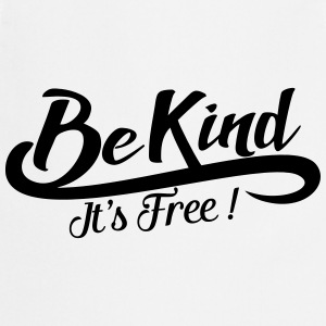 be kind it's free Sweaters - Keukenschort