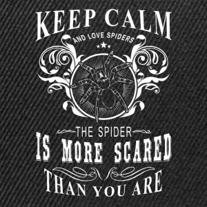 Spider / Spinne T-Shirts - Snapback Cap