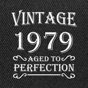 Vintage 1979 - Aged to perfection T-Shirts - Snapback Cap
